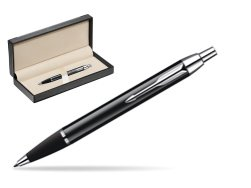 Parker IM Black Lacquer CT Ballpoint Pen  in classic box  black