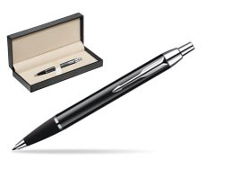 Parker IM Black Lacquer CT Ballpoint Pen  in classic box  pure black