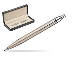 Parker IM Brushed Metal CT Ballpoint Pen  in classic box  black