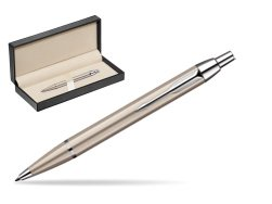 Parker IM Brushed Metal CT Ballpoint Pen  in classic box  pure black