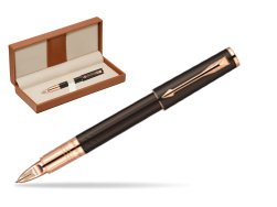 Parker Ingenuity Brown Rubber GT Parker 5TH Technology (slim model)  in classic box brown